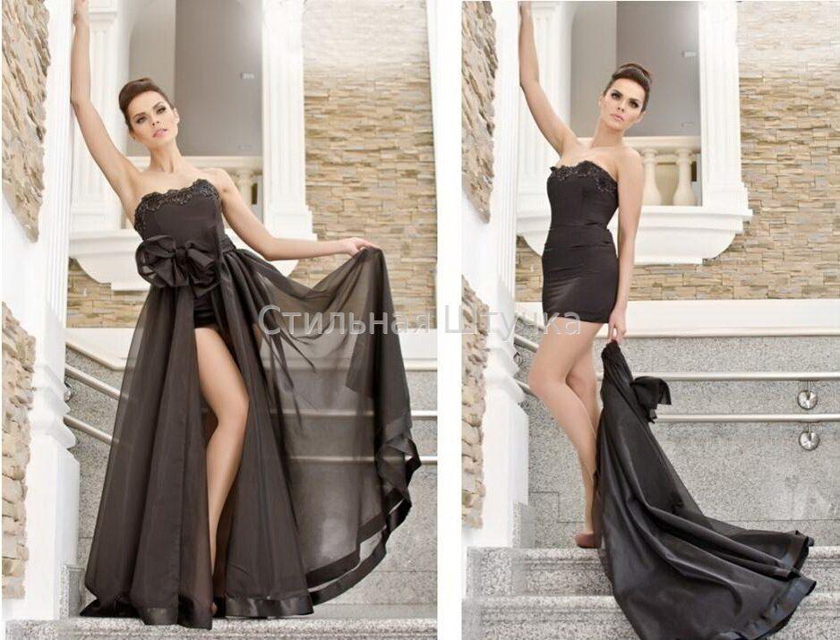 Вечерние платья с юбкой трансформер