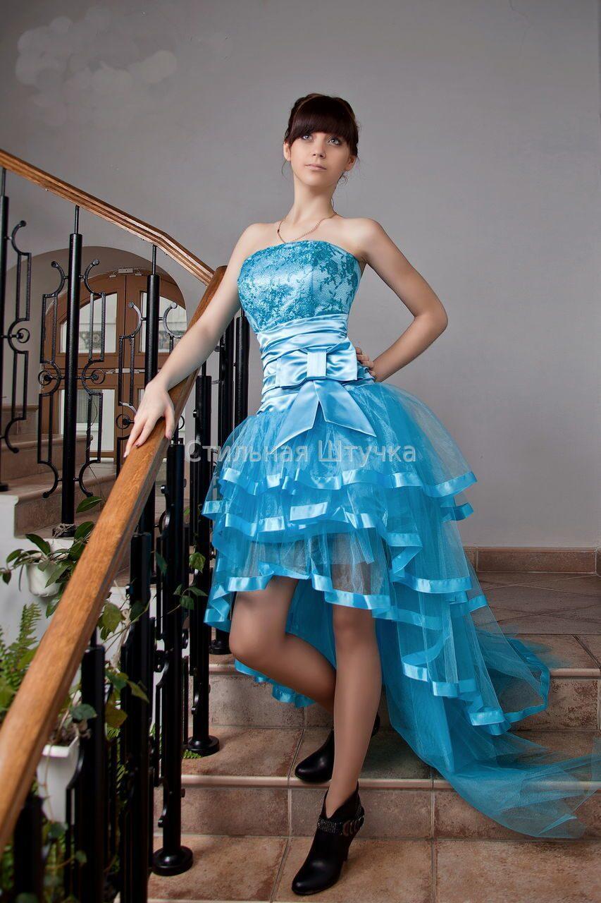 фото платьев на выпускной из школы