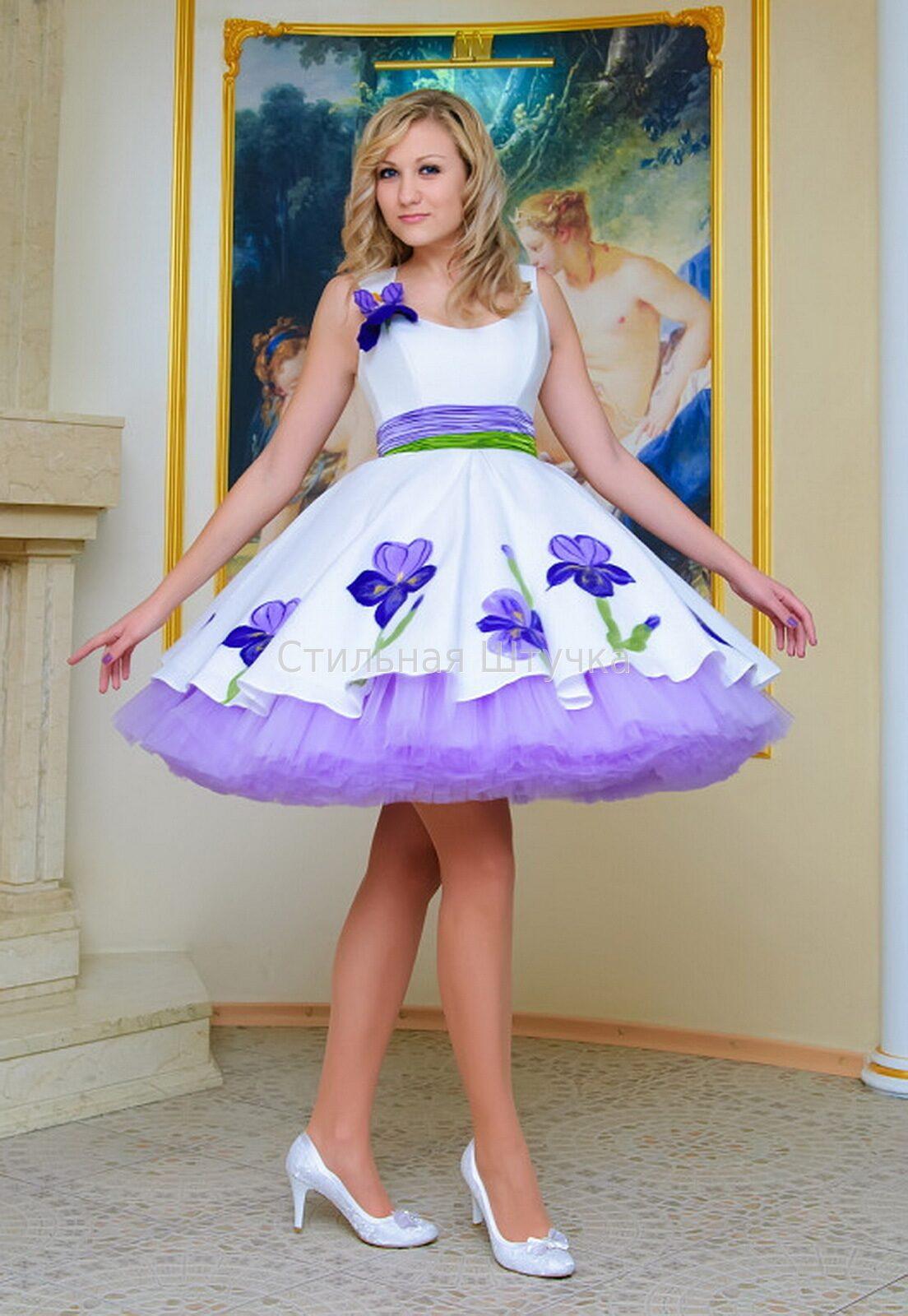 Сшить платье в горошек для девочки 182