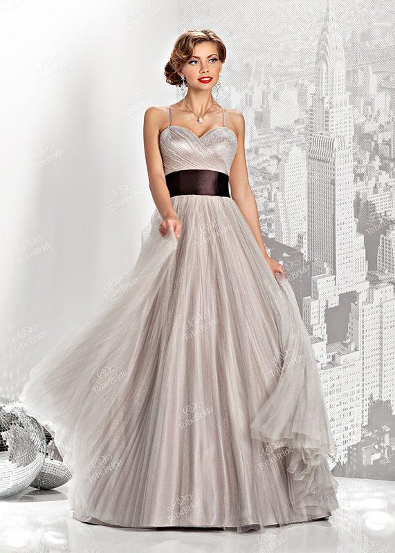 Купить платье серебристого цвета